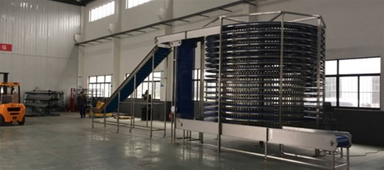 What are the technical characteristics of spiral wake-up tower